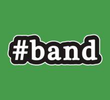 Band - Hashtag - Black & White Kids Clothes