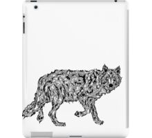 """Wolf Spirit"" - surreal tribal totem animal iPad Case/Skin"