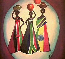 African Ladies by pilanehimself