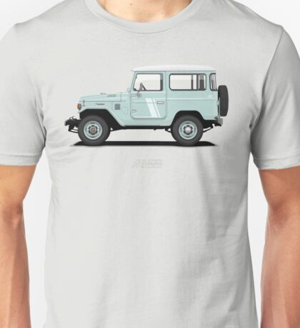 Land Cruiser FJ40 HardTop Blue Unisex T-Shirt