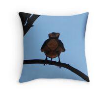 'Fluffy Bum' Throw Pillow