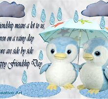 Happy Friendship Day Greetings by Ann12art