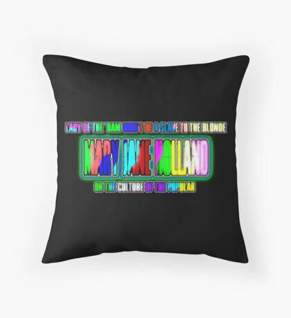 Mary Jane Holland Design Throw Pillow