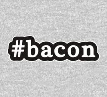 Bacon - Hashtag - Black & White Kids Clothes