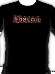 Bacon - Hashtag - Photograph T-Shirt