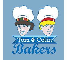 Tom & Colin Bakers Photographic Print