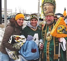 Packer Fans by Mary Kaderabek-Aleckson