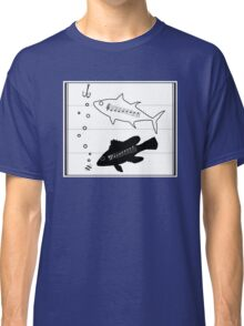 """""""Fish Scales"""" -- A Duet (Musical Fish) Classic T-Shirt"""