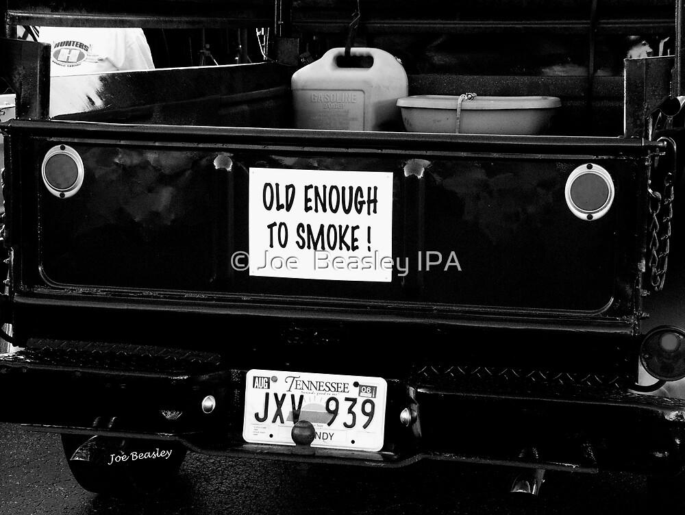 Old enought to smoke by © Joe  Beasley IPA