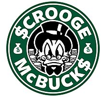 Scrooge McBucks Photographic Print