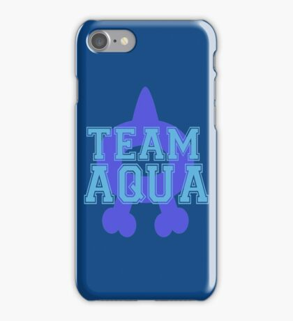 Pokemon - Team Aqua iPhone Case/Skin