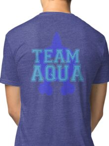 Pokemon - Team Aqua Tri-blend T-Shirt