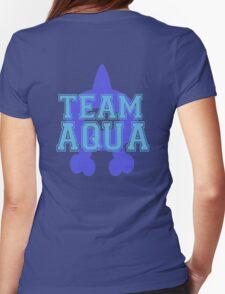 Pokemon - Team Aqua Womens Fitted T-Shirt