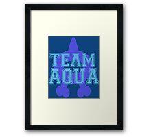 Pokemon - Team Aqua Framed Print