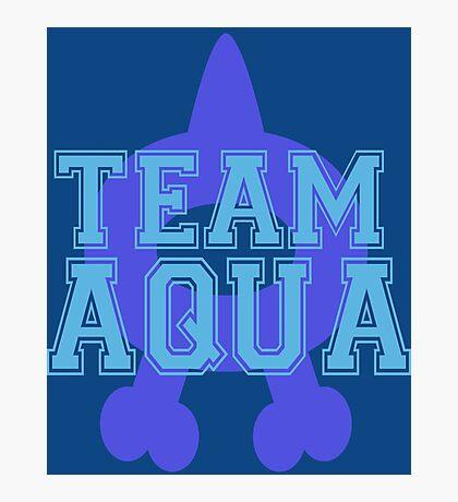 Pokemon - Team Aqua Photographic Print