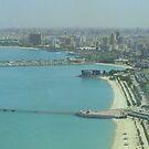 Kuwait City - Birdeye view by NicoleBPhotos