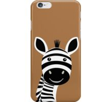 ZEBRA PORTRAIT iPhone Case/Skin