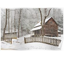 Tipton in winter Poster
