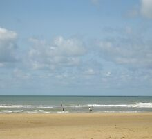Sunny beach by Sam Riggs