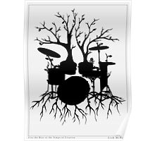 """""""Live the Beat to the Tempo of Creation"""" ~ drum art, version2 Poster"""