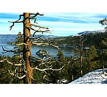 Overlooking Emerald Bay Photographic Print