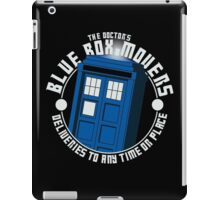 Blue Box Movers iPad Case/Skin