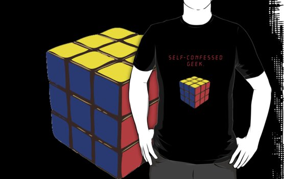 Self-confessed geek. by hyde