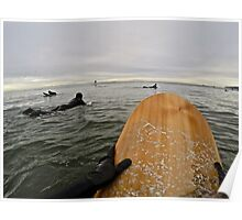 Surfer's Point of View Poster