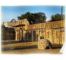 Historic Spanish Missions Poster
