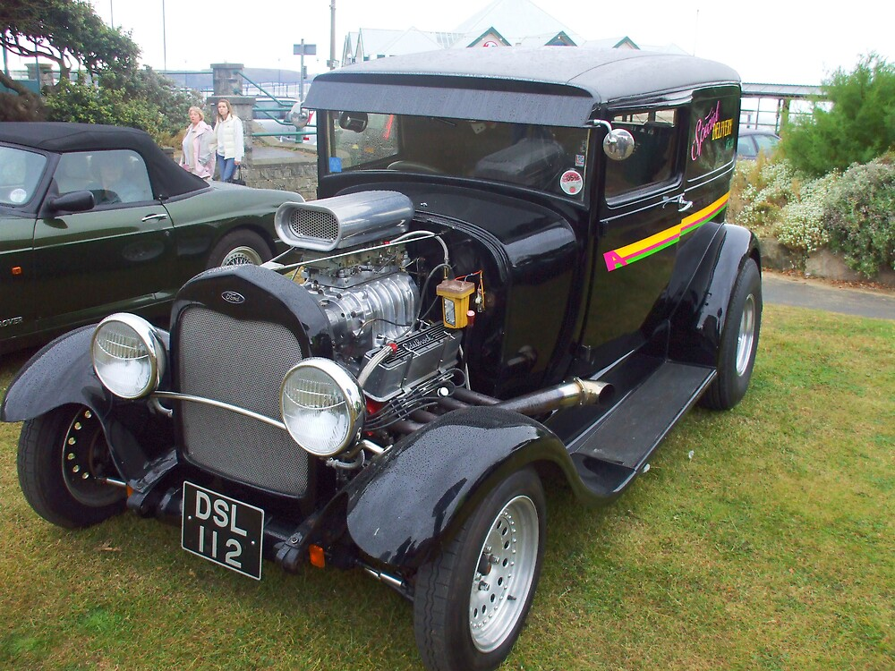 Very Cool Hot Rod by Roger Poole