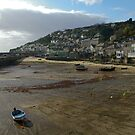 Mousehole harbour by Steve plowman