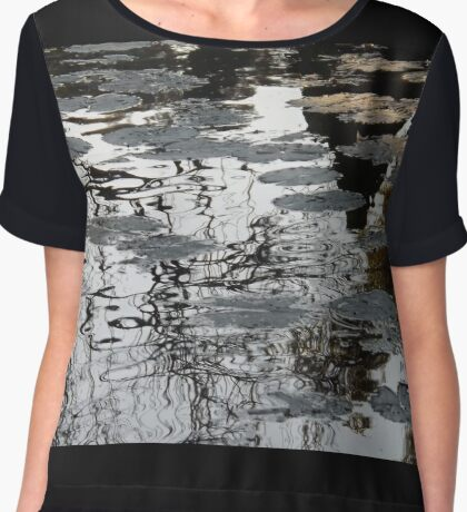 Relax and float downstream Chiffon Top