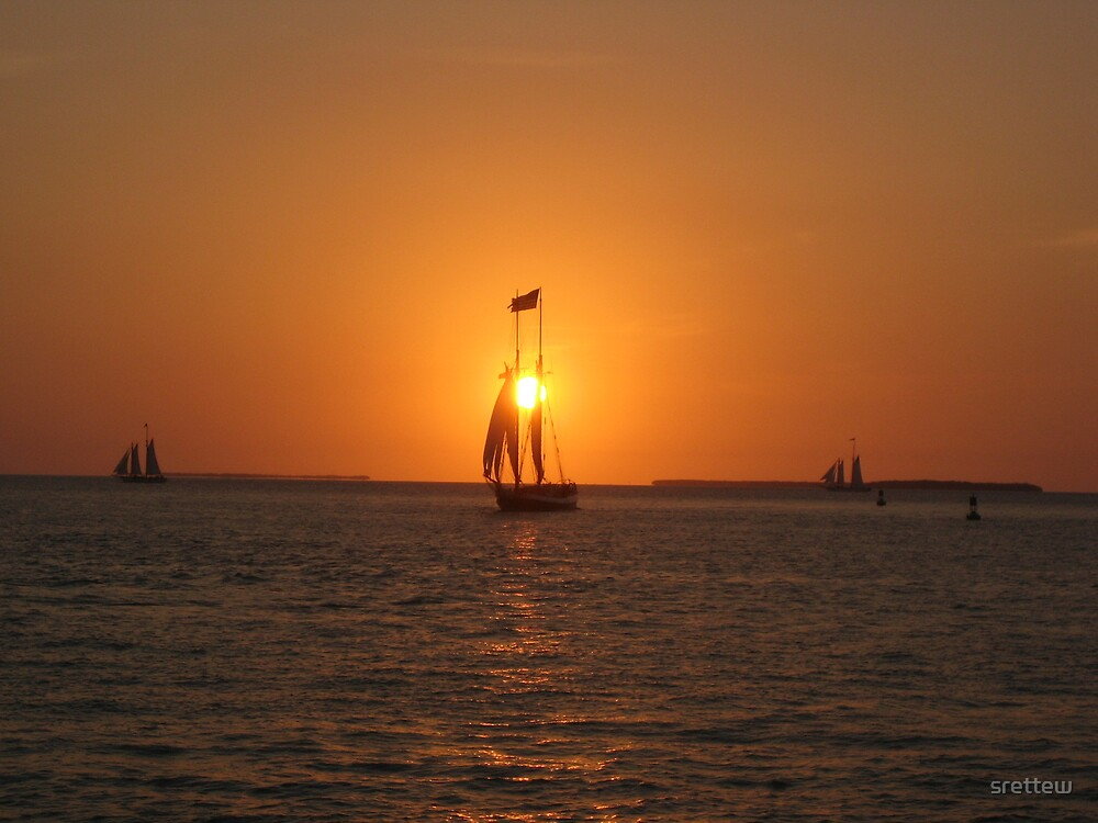 Key West Sunset by srettew