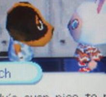Animal Crossing Butch 1 Sticker