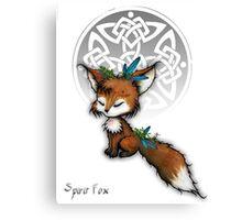 Celtic Spirit Fox Canvas Print