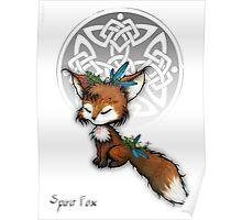 Celtic Spirit Fox Poster