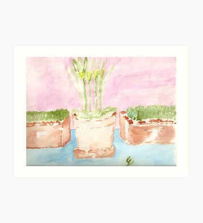 Herbal Days Art Print