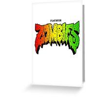 FLATBUSH ZOMBIES RASTA COLOR Greeting Card