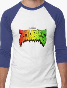 FLATBUSH ZOMBIES RASTA COLOR Men's Baseball ¾ T-Shirt
