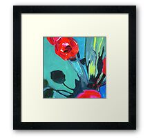 Red Impact  Framed Print