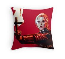 Buffy 92' Throw Pillow