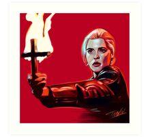 Buffy 92' Art Print