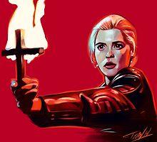 Buffy 92' by ibtrav