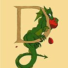 "Oscar and the Roses ""D"" (Illustrated Alphabet) by Donna Huntriss"