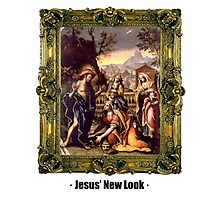 Jesus'New Look Photographic Print