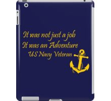 Navy Vet iPad Case/Skin