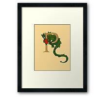"Oscar and the Roses ""P"" (Illustrated Alphabet) Framed Print"