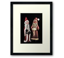 Santas For Your Holiday Framed Print