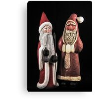 Santas For Your Holiday Canvas Print