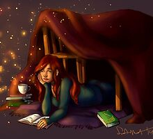 Magical Reading by Amelia Buff
